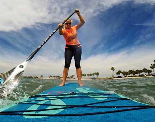 Brand Ambassador Karen Mirienbrink YOLO Boards Paddleboarding