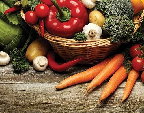 Organic Veggie Glossary Vitamins & Benefits They Provide