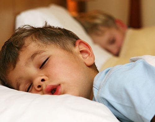 DHA improves sleep in children