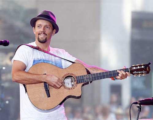 Jason Mraz On Stage