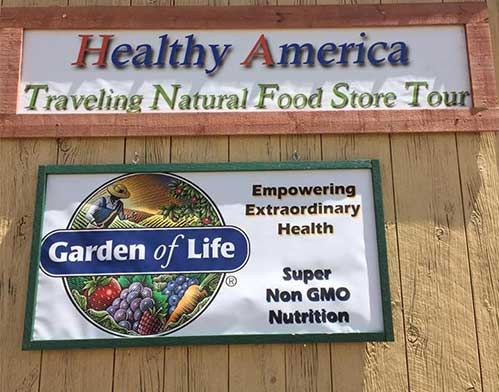 Healthy America Traveling Natural Food Store Tour