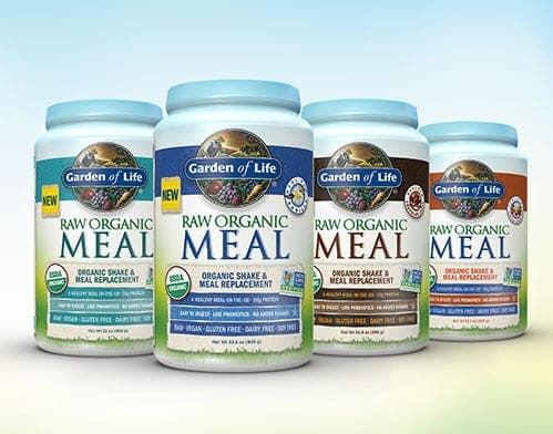 New RAW Organic Meal