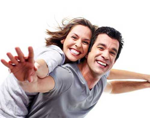 Happy Mood Couple