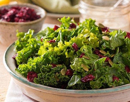 kale and arugula salad