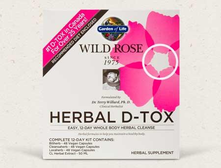 Wild Rose Herbal D-Tox Blog