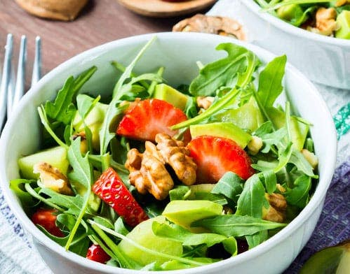 Avocado Walnut Salad Recipe