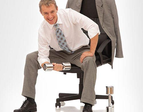 exercises while sitting health article