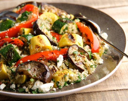 Grilled Veggies and Quinoa Salad Recipe