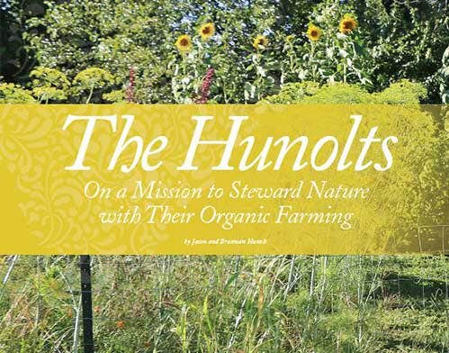 The Hunolts Organic Farming