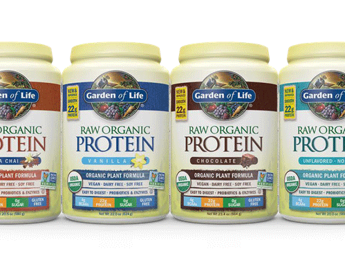 Garden Of Life Introduces The New Raw Organic Protein Garden Of Life