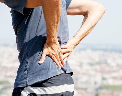 massage lower back pain