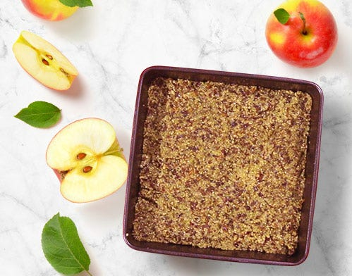Perfect food apple squares