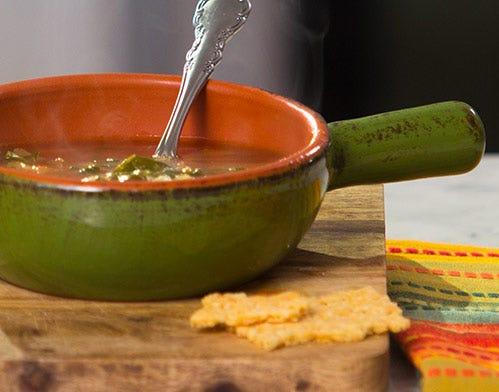 tomato and white bean soup