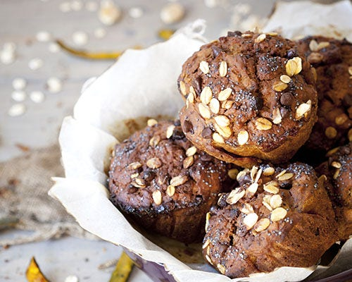 Chocolate Protein Muffin Cakes