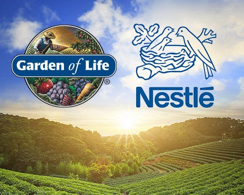 Garden of Life will become part of Nestle