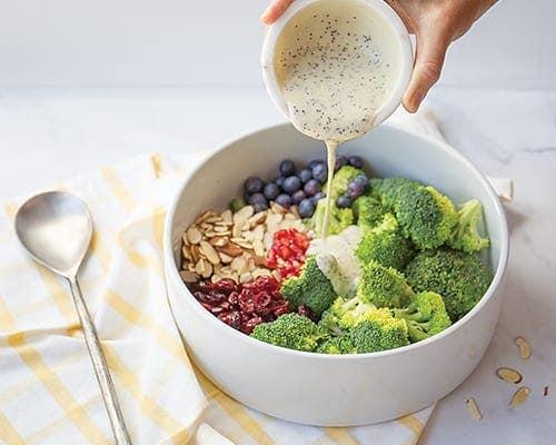 broccoli autumn salad