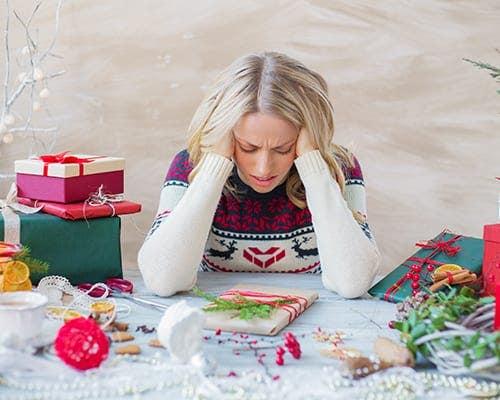 Keep Holiday Stress Under Wraps
