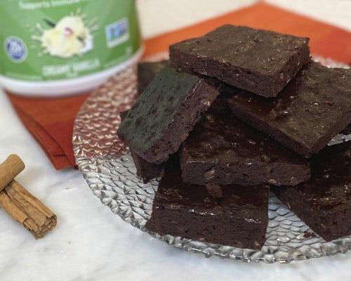 Chocolate Chai Brownie Thins