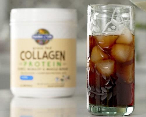 Collagen Thai Tea Latte