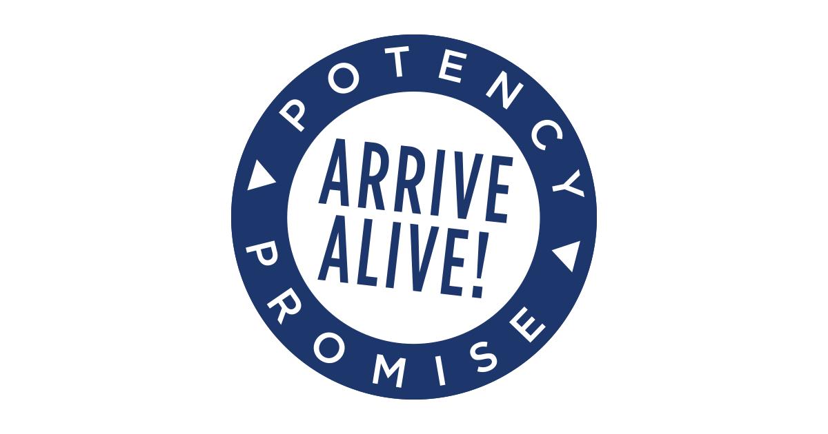 Garden of Life Probiotics Arrive Alive Potency Promise Seal