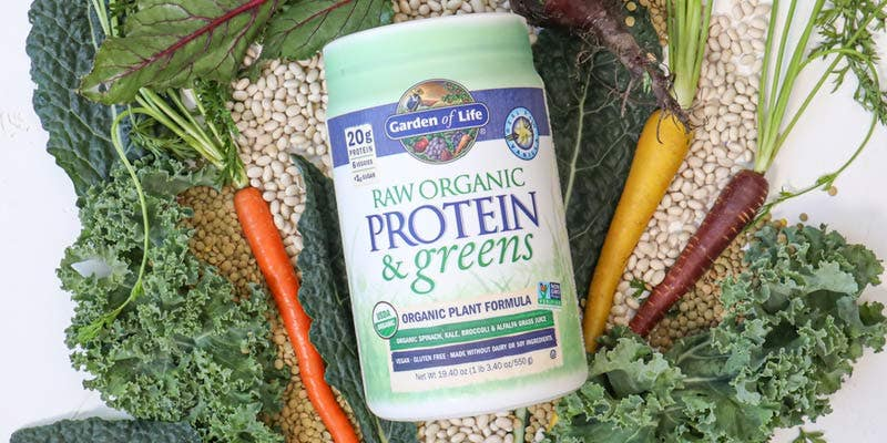 Garden of Life Raw Proteins and Greens
