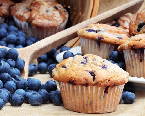 Big Bear Blueberry Muffins
