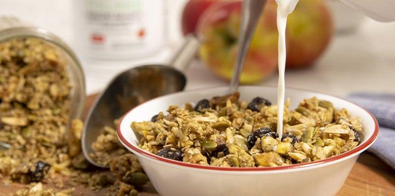 collagen apple granola