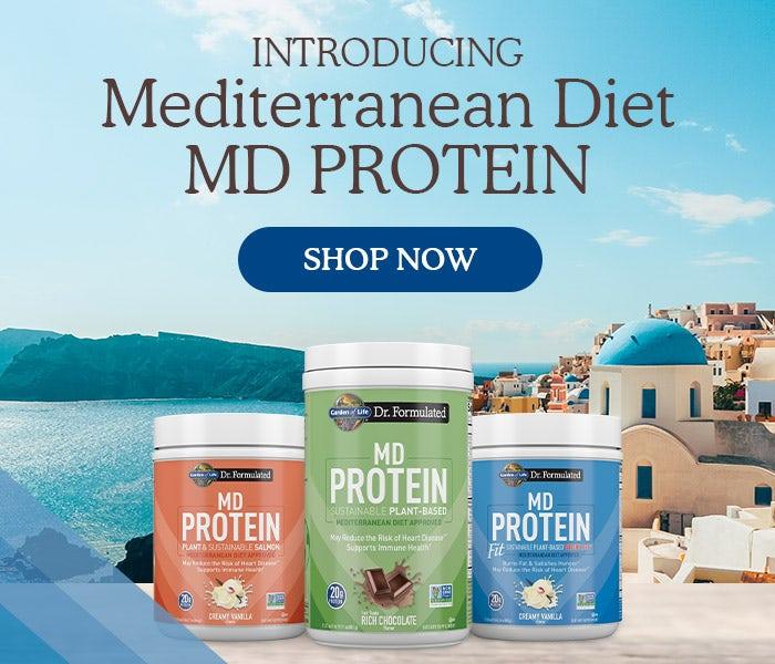 Introducing Mediterranean Diet MD PROTEIN