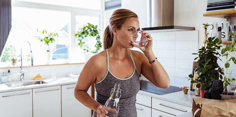 drinking water for energy