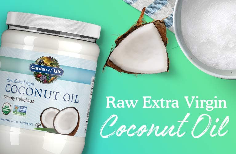 coconut oil raw extra virgin from garden of life