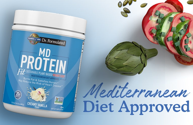 MD Proteins Fit Dr Formulated by Garden of Life
