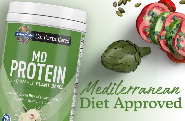 MD Proteins Plant Based Dr Formulated by Garden of Life