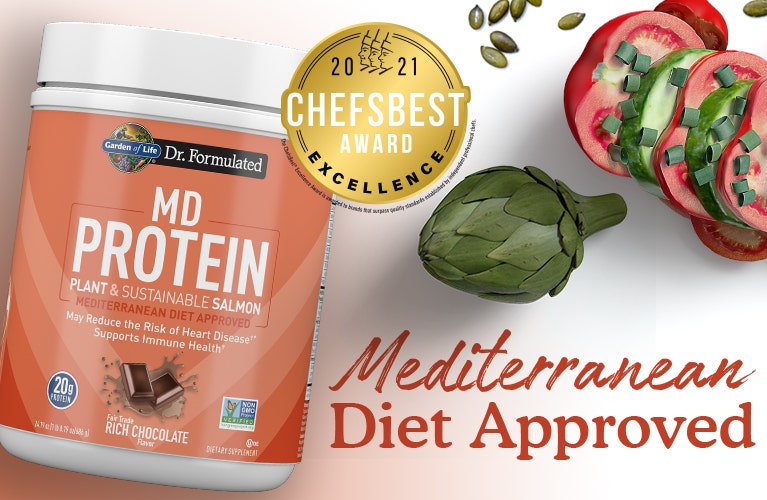 MD Proteins Salmon Dr Formulated by Garden of Life