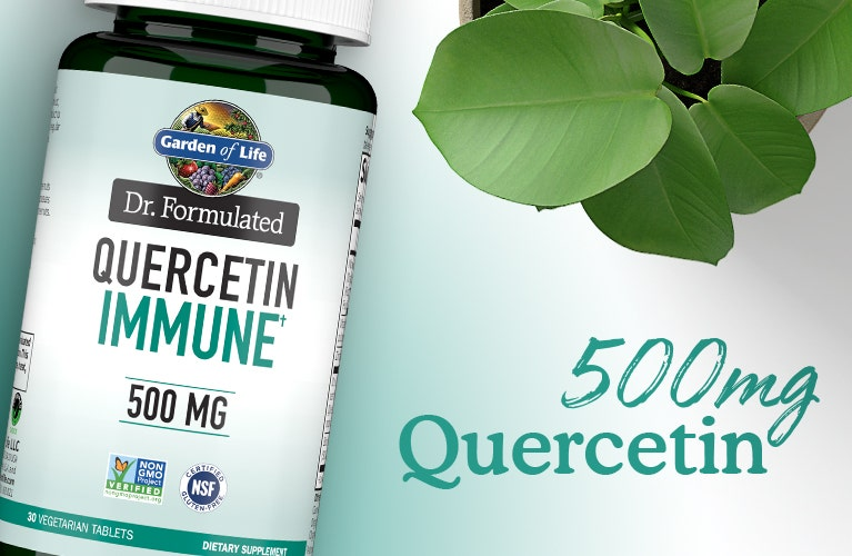 probiotics dr formulated quercetin advanced immune 500mg