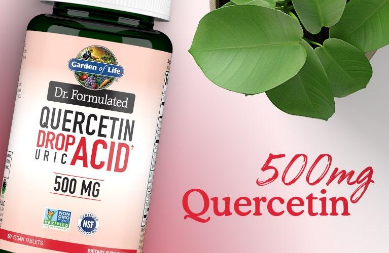 probiotics dr formulated quercetin drop uric acid 500mg
