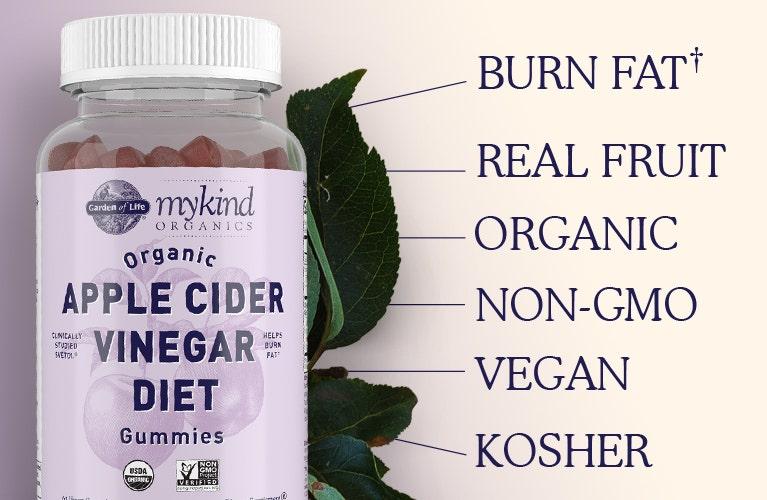 Apple Cider Vinegar Diet mykind Organics Garden of Life