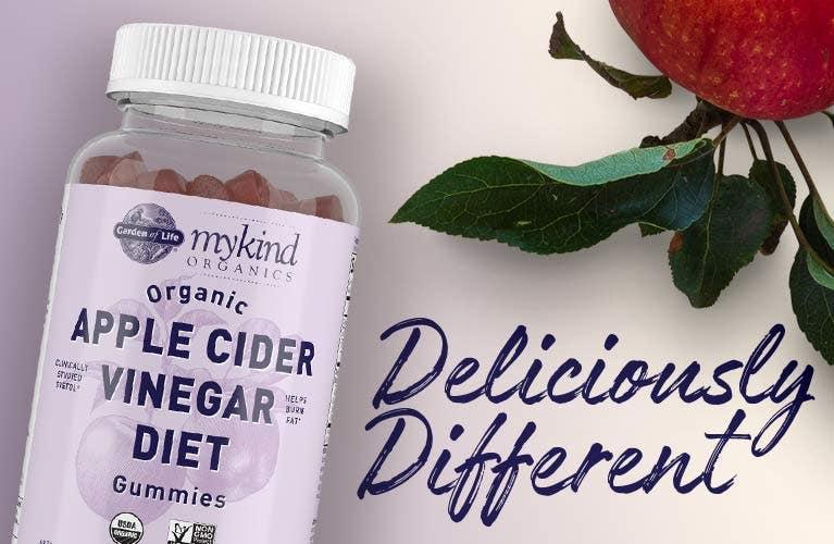 Organic Apple Cider Vinegar Diet Garden of Life mykind Organics