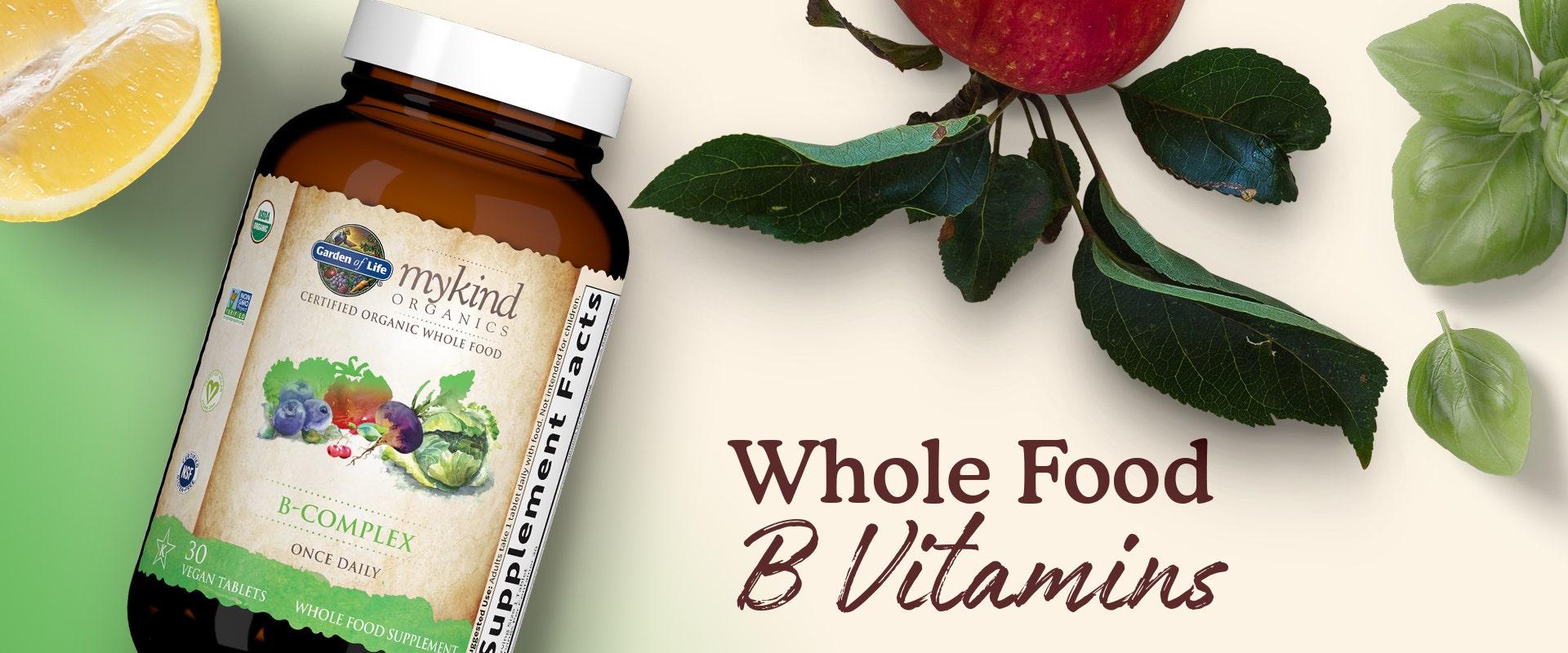 mykind Organics B-Complex Once Daily