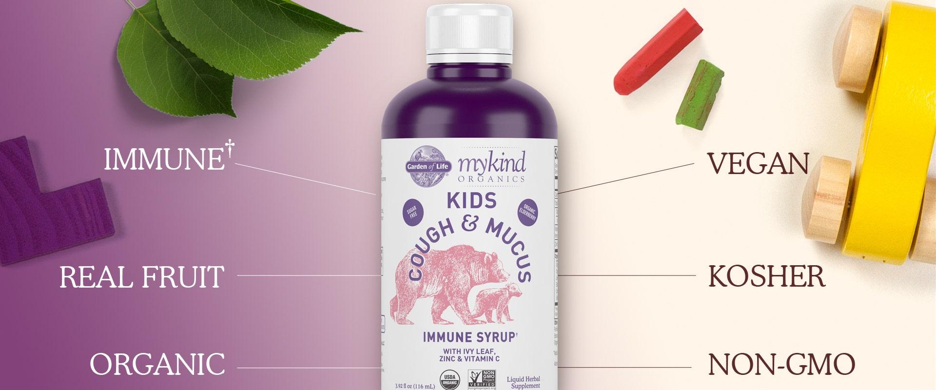 usda organic elderberry immune support