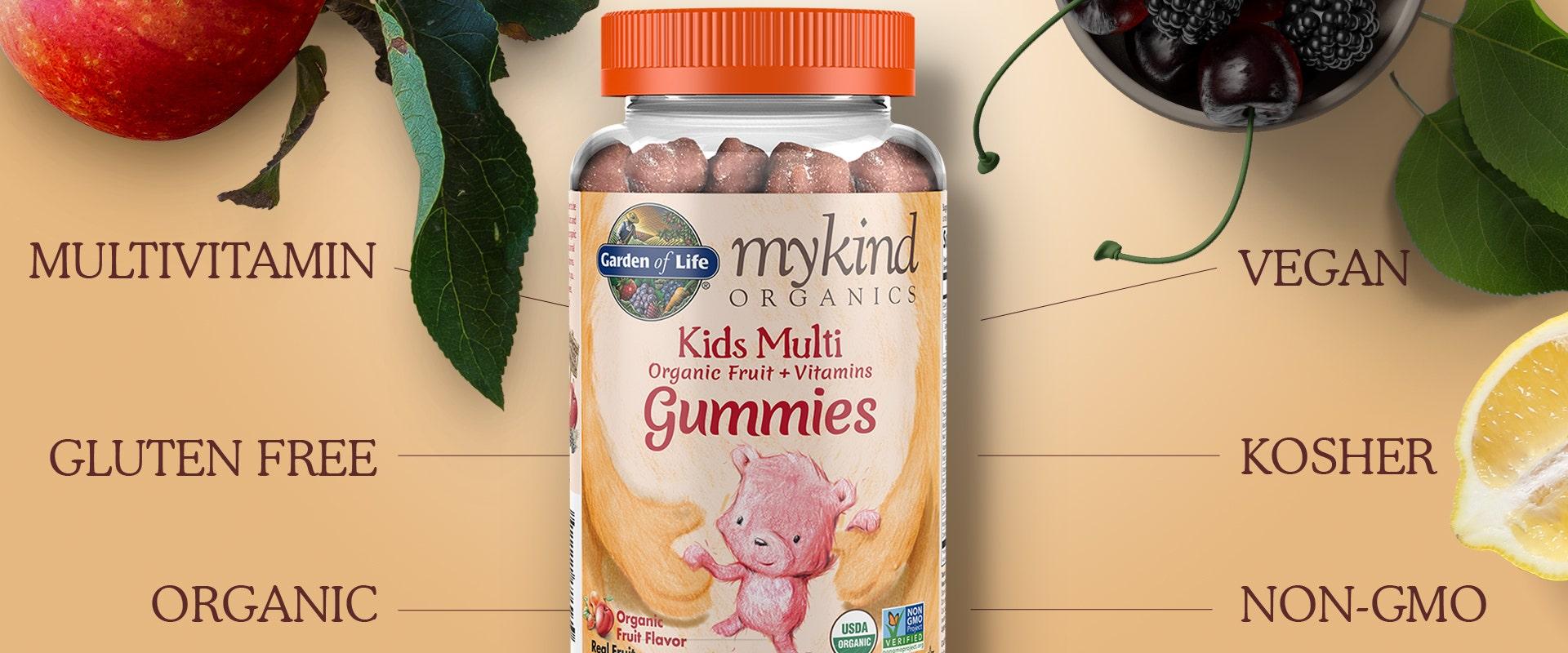 Garden of Life mykind Multi Vitamin Kids Gummies