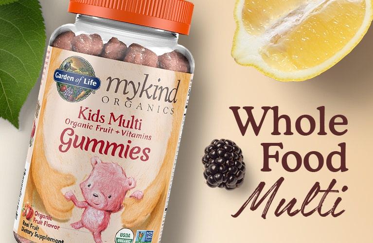 kids gummy multi vitamin mykind by garden of life