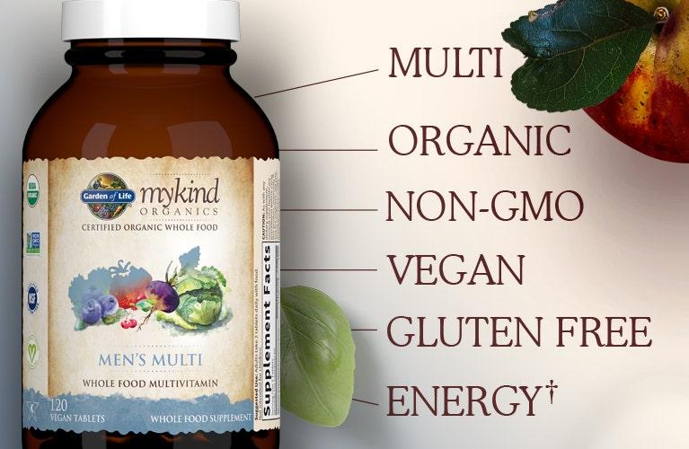 Garden of Life mykind Vitamin Mens multi