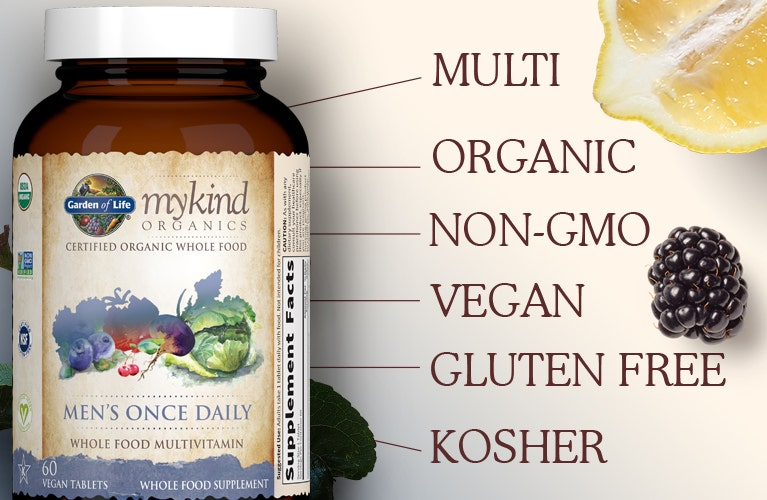 Garden of Life mykind Vitamin Mens Once Daily