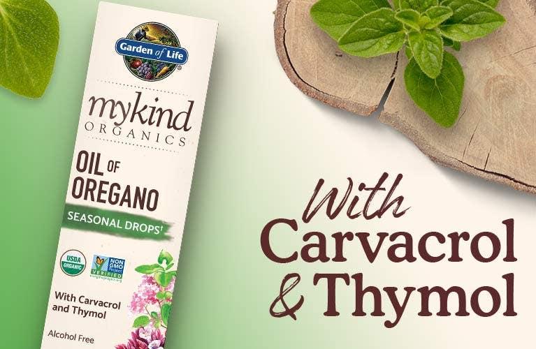 mykind herbals by garden of life