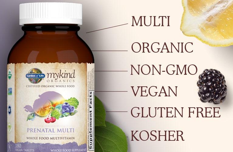 Garden of Life mykind prenatal multi vitamin