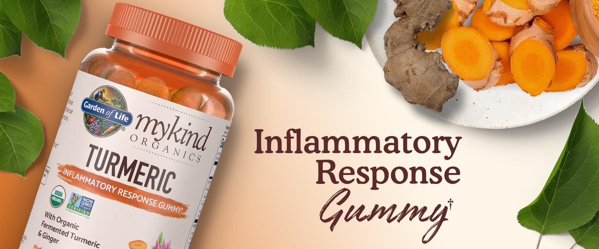 turmeric gummy vitamin mykind by garden of life