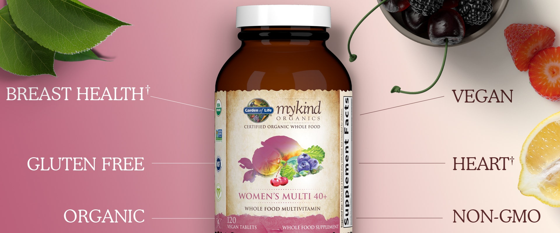 Garden of Life mykind Vitamin Womens Once Daily