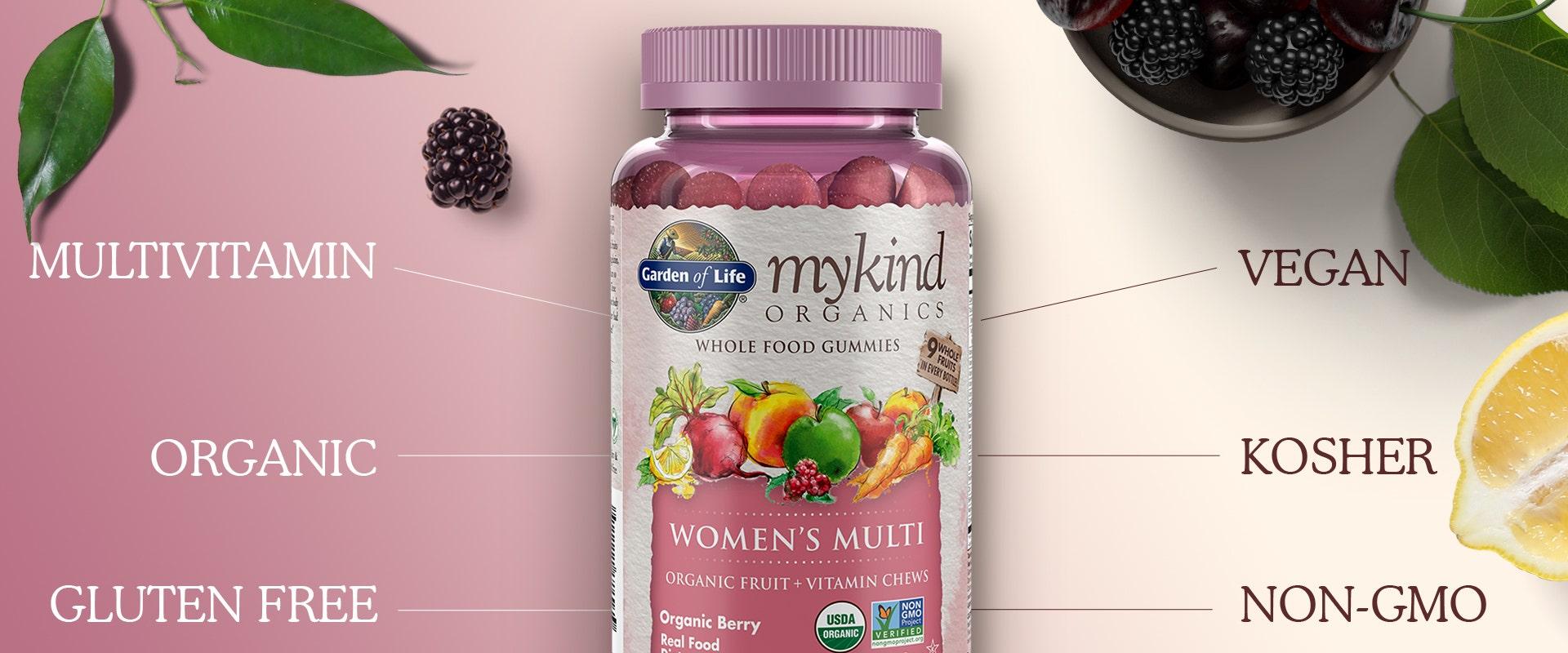 Garden of Life mykind Multi Vitamin Womens Gummies