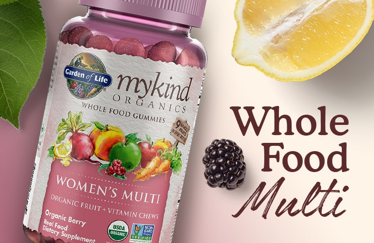 womens gummy multi vitamin mykind by garden of life