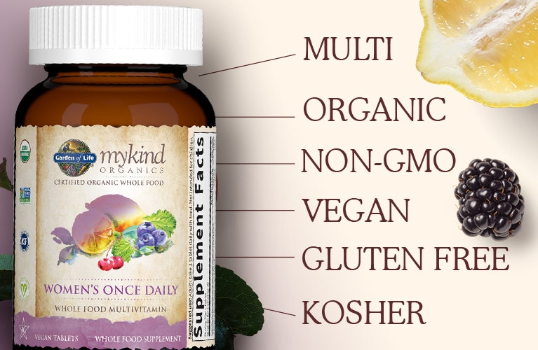 Garden of Life mykind Organics Women's Once Daily